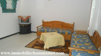 Location Appartement Najiba à hammamet (Tunisie)